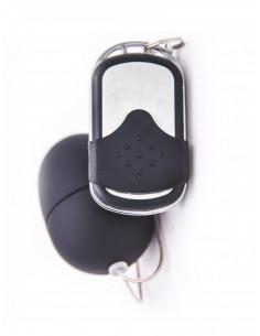 Ovulo vibrante con telecomando Nero