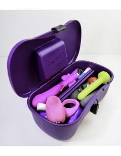 JOYBOXX - Contenitore igienico Viola