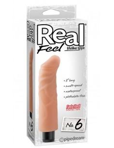 Vibratore Real Feel N° 6 Carne