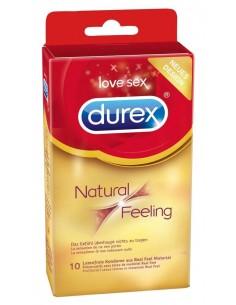 Durex Natural Feeling - Senza Lattice - Trasparente 10pz