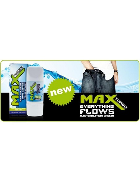 Max Turbo Masturbation Cream 75ml