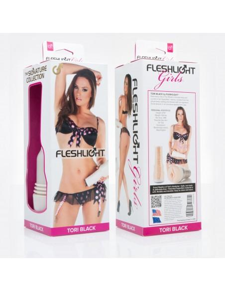 Fleshlight Girl Tori Black vagina