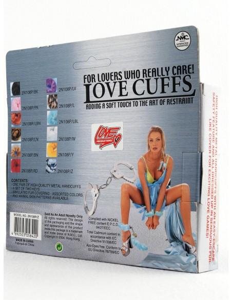 Manette Peluche Love Cuffs Viola